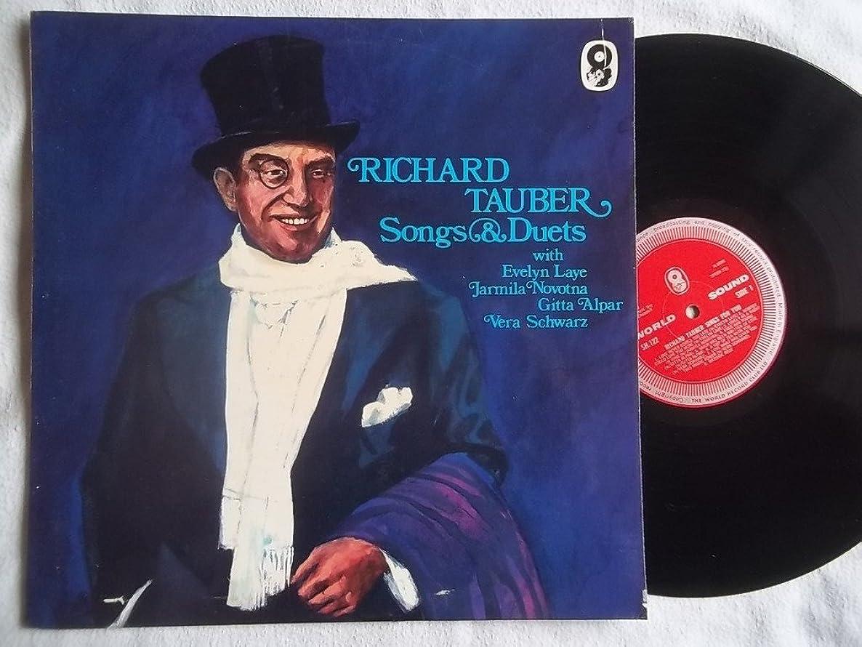 SH 122 RICHARD TAUBER Songs & Duets vinyl LP