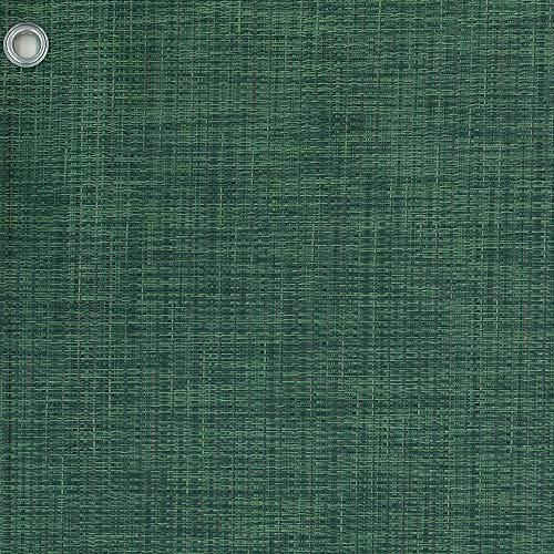 Tenax Texstyle All Green Filet tissé décoratif brise-vue en PVC et polyester, vert