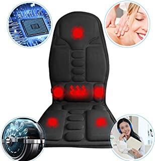 KAIFYU Car Seat Cushion Back Multipurpose Massager Pad for Back Pain Relief Winter Summer Relaxation for Car Chair Home Office