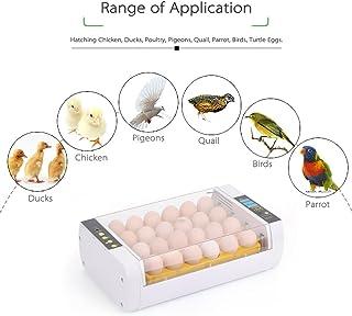 Docooler 24-Eggs Intelligent Automatic Egg Incubator Temperature Control Hatcher for Hatching Chicken Duck Bird Quail Poultry AC220V AU Plug