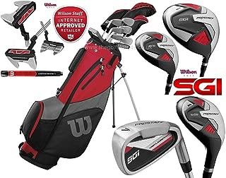 Wilson ProStaff SGI - Juego Completo de Palos de Golf para