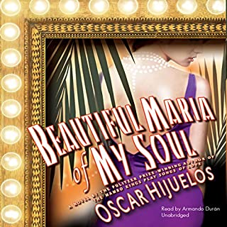 Beautiful María of My Soul audiobook cover art