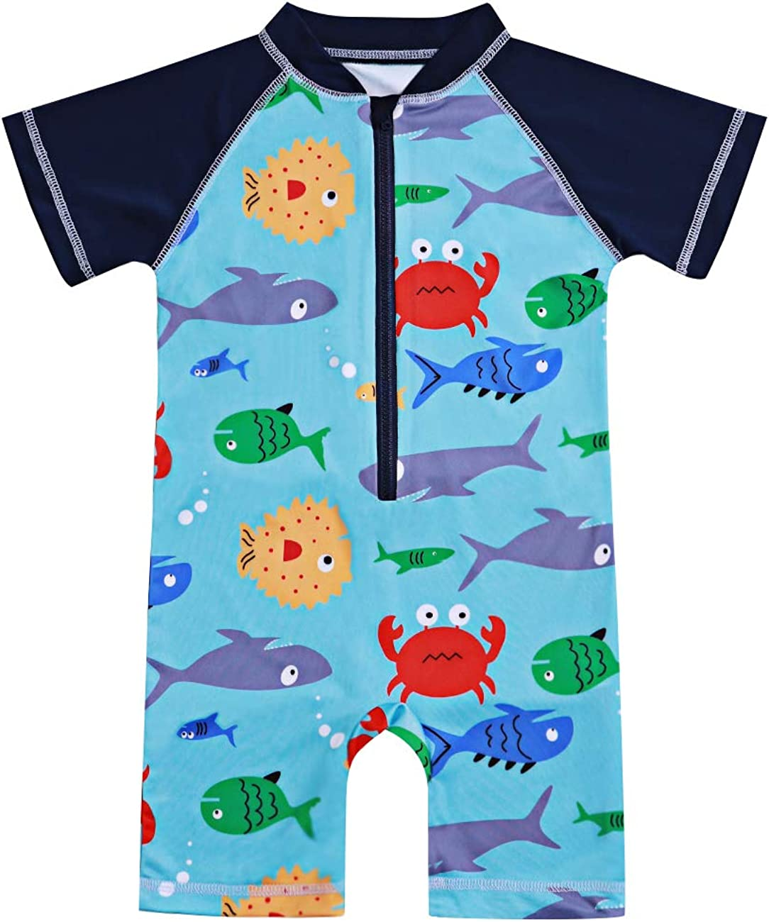 Toddler Kids Baby Boy All stores are sold Swimsuit Short Shark Suit P Sale special price Sleeve Bathing