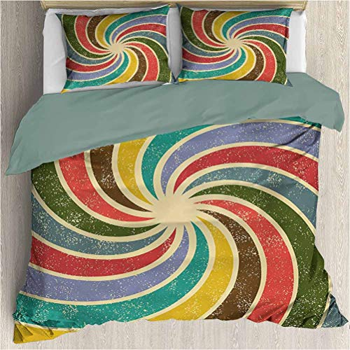 cool rainbow bedding set