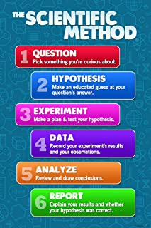 The Scientific Method Science for Classroom Chart Teacher Supplies for Classroom School Decor Teaching Learning Bulletin B...