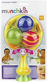Munchkin Scooper Hooper Bath Toy (2-in-1, Scoop and Hoop with 3 Squirting Toys)