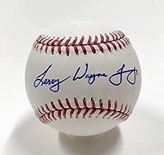 Larry Wayne Chipper Jones Full Name Autographed Signed Baseball. Bas Beckett Authentic