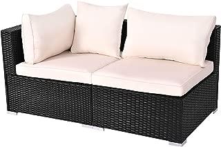rattan sofa corner