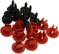 10PCS Bottom Shield Fasteners Engine Undertray Cover Clips For Ford Focus