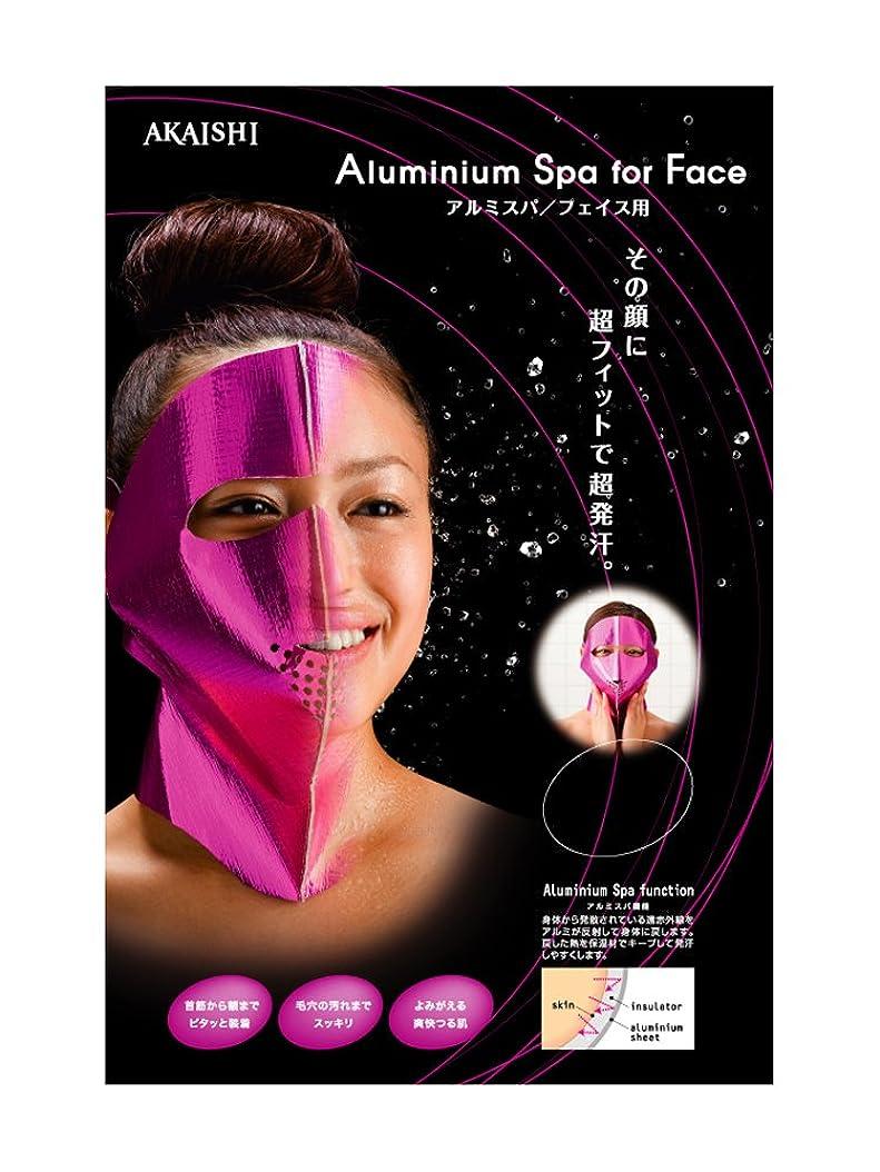 ベース小包整理するAKAISHI アルミサウナ マスク フェイス用