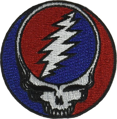 C&D Visionary Application Grateful Dead Steal Your Face 2 Patch