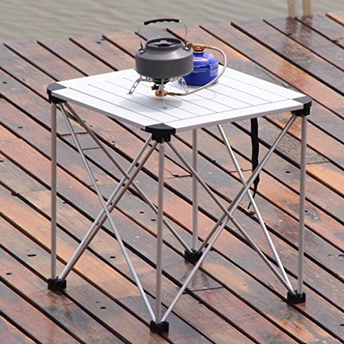 Bao Xing Bei Firm Table d'ordinateur en Aluminium Table Pliante en Plein air Portable Table Pliante et des chaises de Pique-Nique Table Ultra légère Auto-Conduite tournée Barbecue Table