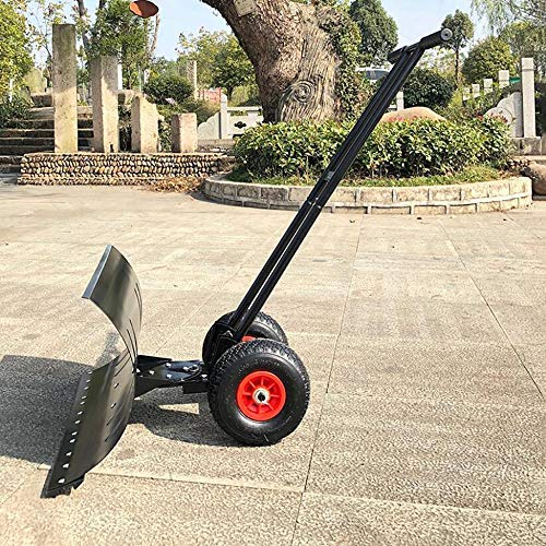 Best Price ZXWNB Double Pole Snow Shovel Hand Push Shovel Snow Shovel Wheel Snow Shovel for Outdoor ...