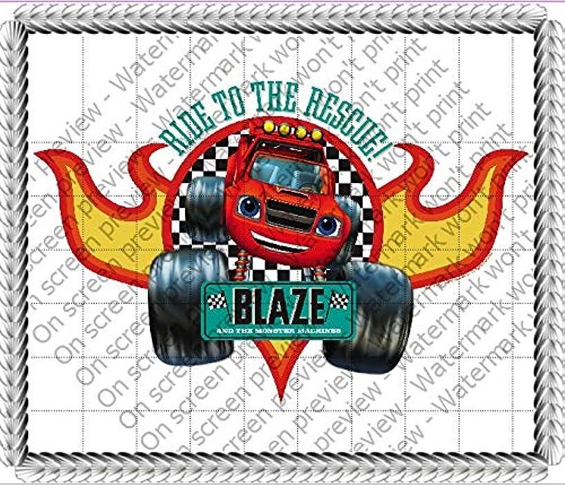 Blaze Monster Trucks Edible Cake Topper Image Decoration Sugar Sheet