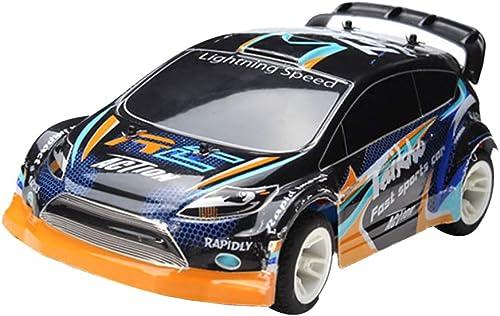Uokoki 01 24 Garçons RC Véhicules électriques Rechargeables Drift voitures 4 Roues Racing voiture Rock Crawler Toy Remote Control
