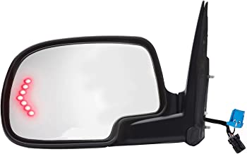 Fit System 62134G Chevrolet/GMC/Cadillac Driver Side OE Style Heated Power Replacement Towing Mirror with Arrow Signal