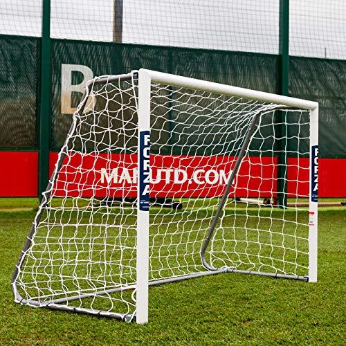 FORZA Alu60 Fußballtore – hochwertiges und freistehendes Aluminium Tor – in 10 Größen erhältlich (1,8m x 1,2m)