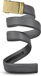 Mission Belt Men's Leather Ratchet Belt, 40mm Metal Collection