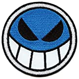 Anime ACE Smiley Patch Cartoon Assassin Embroidered Iron On No