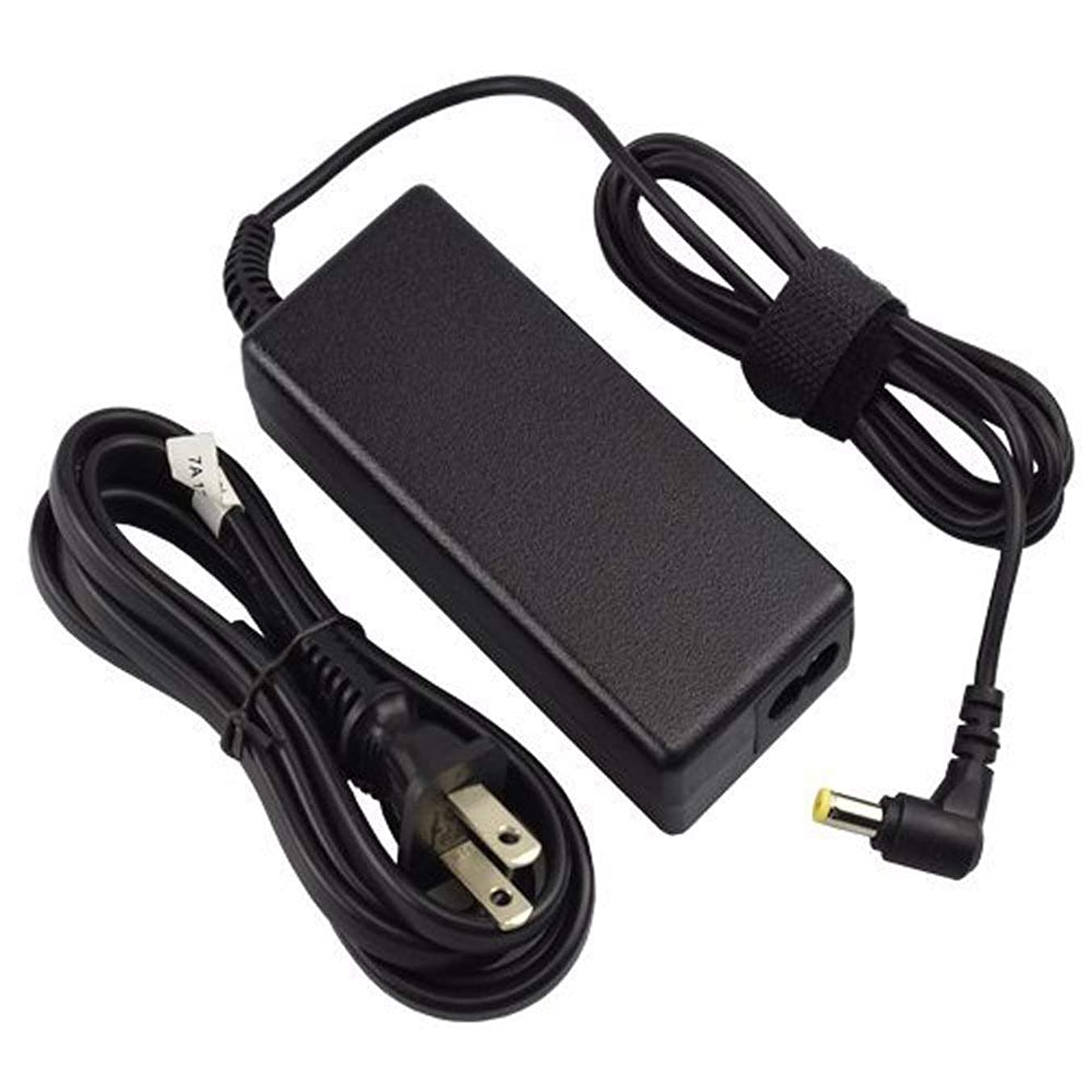 [UL Listed] 65W AC Charger Compatible with Acer Aspire E1 E1-510 E1-510P E1-521 E1-522 E1-530 E1-531 E1-532 E1-532P E1-570 E1-570G E1-571 E1-572 E1-572G E1-572P Laptop Power Supply Adapter Cord