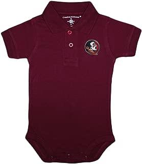 Florida State University FSU Seminoles Newborn Polo Bodysuit