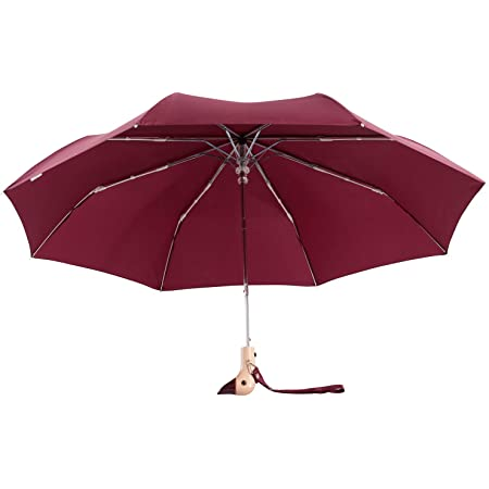 Black//White Scott Inness Susino Patterned Duck Handle Umbrella