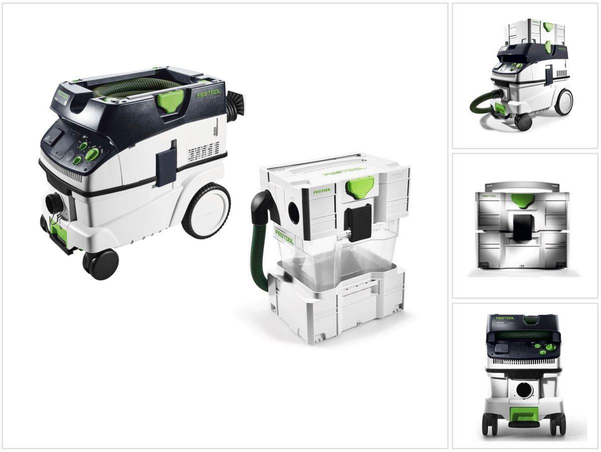 Festool CTM 26 E CLEANTEC - Aspirador (16 L) M (574981) + separador CT-VA 20 T.: Amazon.es: Bricolaje y herramientas