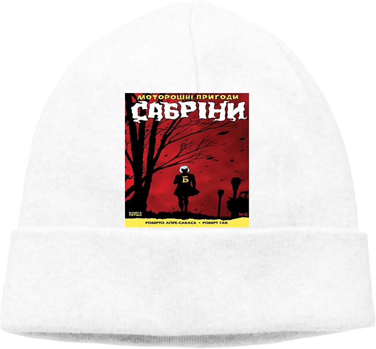 Sabrina fully lined Chilling Adventures embroidered polar fleece beanie