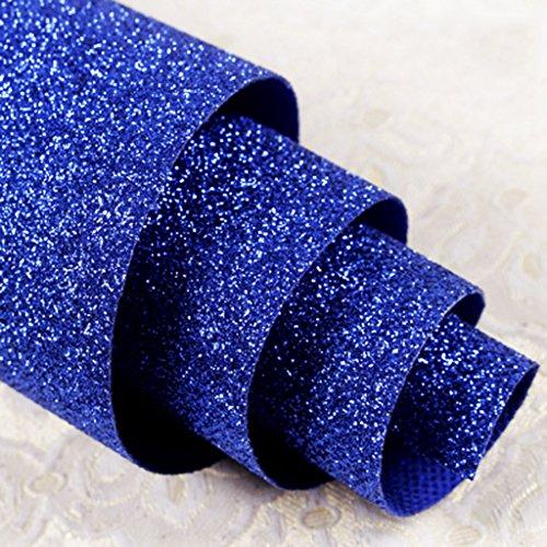 Vloerbedekking, reflecterend, voor hotel, T-tapijt, bruiloft tapijt, glanzend, wanddecoratie, tapijt, voor tentoonstellingen, hal, trappen 1.38 * 5m Royal Blauw