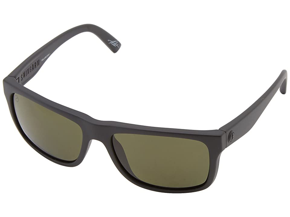 Electric Eyewear Swingarm Polarized (Matte Black/M1 Grey Polar) Sport Sunglasses