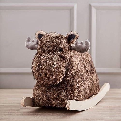 Con 100% de calidad y servicio de% 100. Kids Concept PeluchesBalancines de de de pelucheKids ConceptRocking Moose Bo, 1  el más barato
