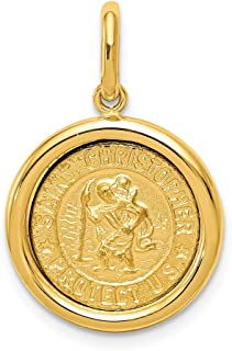 Best st christopher pendant gold Reviews