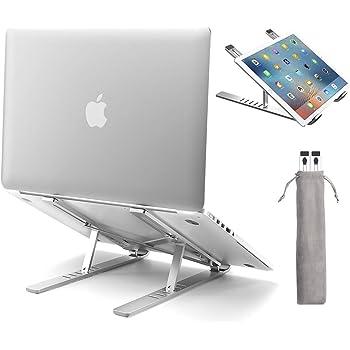 Flat Universal Computer Desktop Stand,Aluminum Alloy Laptop Large Stand Suitable for Laptops