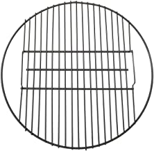 Sunnydaze Fire Pit Cooking Grill Grate - Outdoor Campfire BBQ - Heavy-Duty 19-Pound Capacity - Round Black 24-Inch Cooking Rack - Outdoor Campfire Use - Fire Pit Accessory