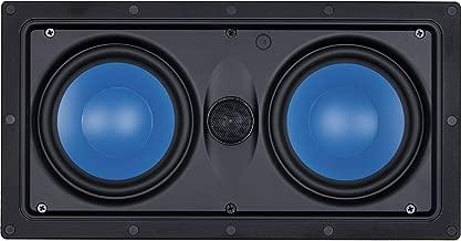 InwallTech TM525.1LCR Home Theater in-Wall Center Speaker (Each, White)