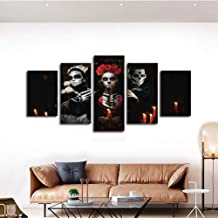 HUDEHUA Hd Printed Painting Multi Panel Canvas Wall Art No frame