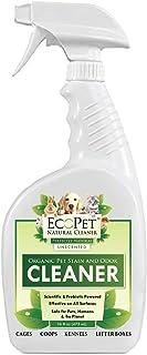 EcoPet Limpiador natural y eliminador de olores de orina de perro. Eliminador de olores y manchas de mascotas de múltiples...