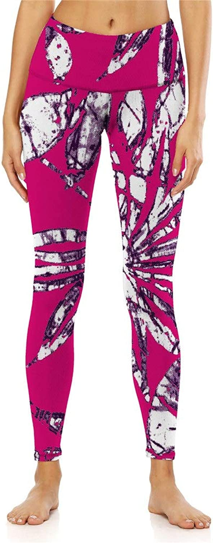 Ladies High Waist Yoga Pants Womens Yoga Pants Printed Workout Yoga Leggings Fitness Yoga Workout Leggings Pant (color   3, Size   XXL)