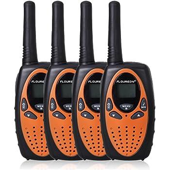 4x Walkie Talkies 2-Way Radio 22 Channel UHF 462-467MHz 3KM Handheld Interphone