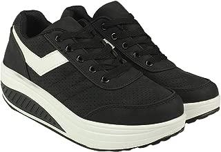 Flat n Heels Womens Black Sneaker FnH 999-11-BK