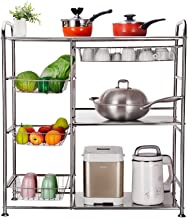 Cutlery Racks Stainless Steel Multi-Layer Rack Kitchen Storage Rack Storage Shelf Cutlery Racks