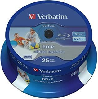 Verbatim 43811 - Discos de BLU-Ray vírgenes (25 Unidades)