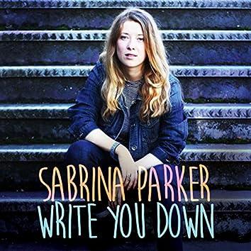 Write You Down