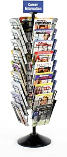 Best rotating magazine rack Reviews