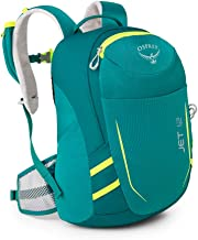 Osprey Youth Jet 12 Backpack, Real Teal, One Size