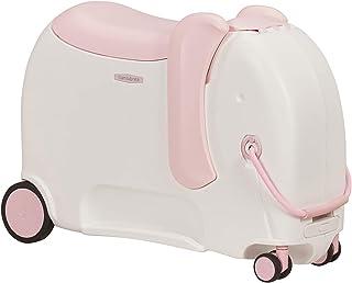 Samsonite Dream Rider Deluxe - Bagage Enfant, 55 cm, 25 L, Blanc (Elephant Peachy)
