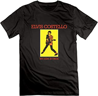Elvis Costtello My Aim is True t Shirt for Mens