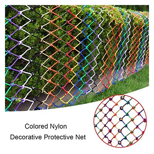 Review Of Protective net Color Rope Net, Child Safety Net Protection Net Nylon Rope Net Household St...