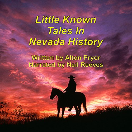 Little Known Tales in Nevada History audiobook cover art
