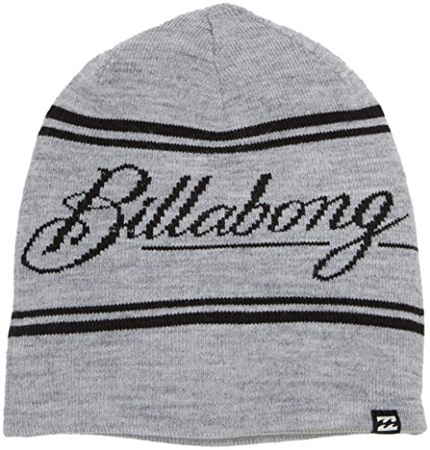 G.S.M. Europe - Billabong Herren Beanie Ranch, GREY HEATHER, Gr. U